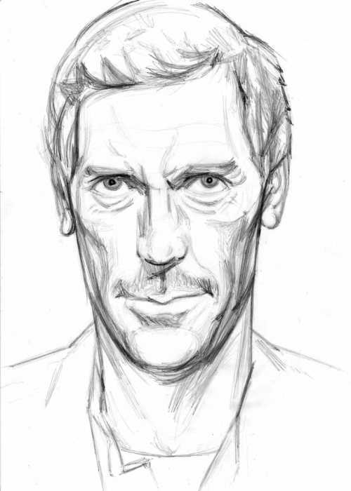 Hugh Laurie by Vasilina